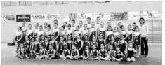 Las alumnas de la escuela de gimnasia ritmica finalizan el curso